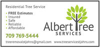 Tree Service and tree removal by a certified ISA ARBORIST