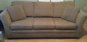 "SOFA BED. SIMMONS QUEEN SIZE 60"" BEAUTYREST MATTRESS. $300.00 St. John's Newfoundland image 1"