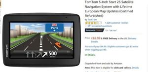 TomTom GPS with maps for Europe