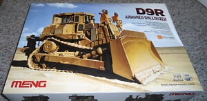 Meng 1/35 Caterpillar D9R Doobi Armored Bulldozer