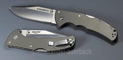 COLD STEEL CODE 4 CLIP POINT  Taschenmesser Klappmesser  Messer (Clip Point Taschenmesser)