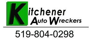 Kitchener Auto Wreckers, Parts, Scrap Car Removal