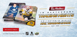 Tim Hortons 2017 Hockey Cards