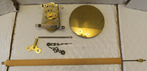 Hermle Clock Movements with pendulums and parts - Five movements