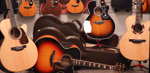 New Takamine Professional Series Acoustics