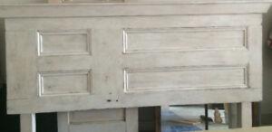 Rustic Custom Handcrafted Barn Door Headboard