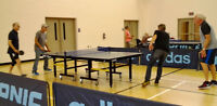 Over 50s Table Tennis/ Ping Pong