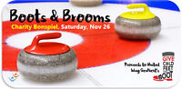 BOOTS & BROOMS CURLING BONSPIEL FOR UNITED WAY