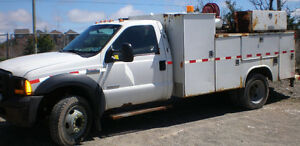 2006 FORD F550 Diesel Service Truck with Generator/ Welder/Tools