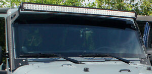 50 in LED lightbar with brackets
