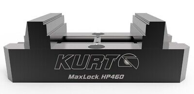 Kurt Maxlock 5-axis Vise With Machinable Jaws