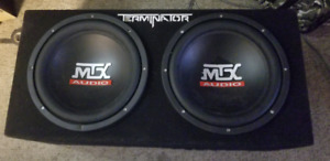*REDUCED ** Subwoofers and amp combo package