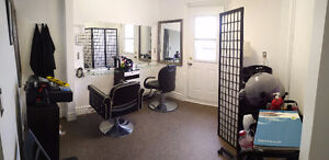Fully Equipped Hair Salon available now