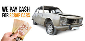 CASH NOW for SCRAP USED OLD CARS 204 777-3535