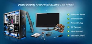 Computer Repair Flat rate In-home/In-office cheap 24/7