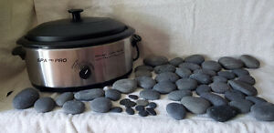 Professional Massage Stone Heater with Basaltic Stones