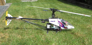 Hawk IV radio controlled helicopter