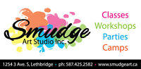Art Classes, Camps, Workshops & Parties at Smudge!