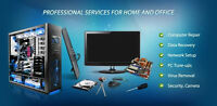 Computer PC/Mac Repair & Home Theatre Service