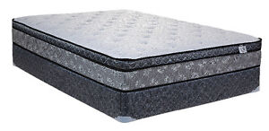 Luxury Dual pocked coil spring mattress for sale/delivery London Ontario image 2