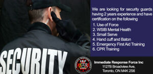 Immediate Response Force Inc. | Security guard Training Agency
