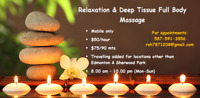 I am Male massage specialist-$60/hr-just Mobile service