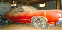 1972 OLDSMOBILE CUTLASS S 2 DOOR HARD TOP