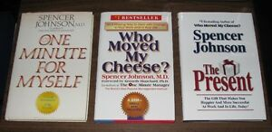 Lot of 3 Business Management Books - Life Work Balance
