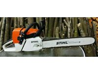 Stihl MS341 Chainsaw and Accessories