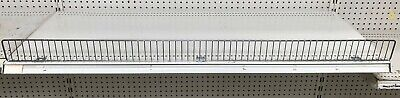 Gondola Shelf Wire Fence 3 H X 48 L - Lozier Handy - Chrome Finish -10 Pieces