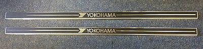 BRAND NEW YOKOHAMA SILL PROTECTORS 89CMS LONG - AIRCRAFT ALUMINIUM-SELF ADHESIVE