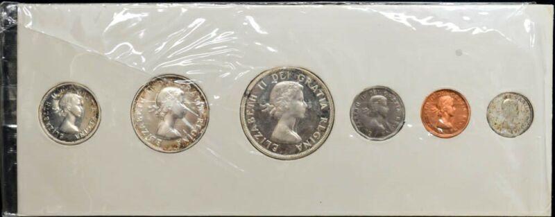 1956 Canada Mint Set Proof-like In Original Wrap DC-3447