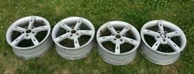 """17"""" alloy wheels, 5x100"""
