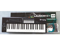 Novation Launchkey 49 mkII - excellent like-new condition