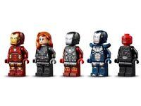 NO TOWER New Lego Avengers Super Hero Minifigs Iron Man Black Widow Red Skull Tazer Blazer 76166