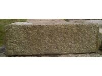 Cornish granite blocks, very large, ideal for restoration project or garden project. various sizes.