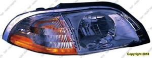 Head Lamp Passenger Side High Quality Ford Windstar 2001-2003