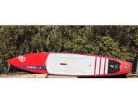 Stand Up Paddle Board, SUP. Fanatic Falcon Air 14' race