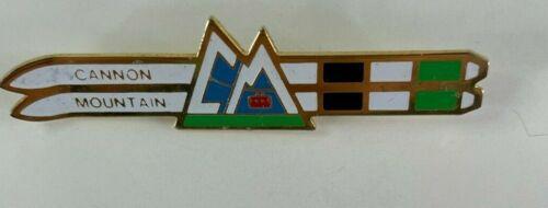 Cannon Mountain Ski Resort Vintage Skiing Ski Pin NH Souvenir Travel Lapel