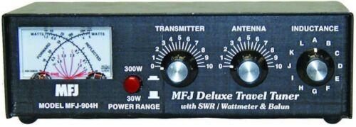 MFJ TRAVEL TUNER, 10-80M, 150W, MTR, BALUN - MFJ-904H