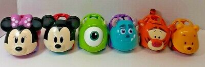 OBall Disney Cars Baby Preschool Toy Lot of 6