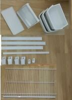 Whirlpool fridge Accessories AWESOME CONDITION; FULL DOOR SET