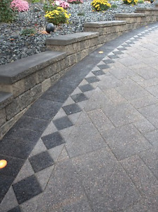 Unilock Series 3000 Pavers Black Granite