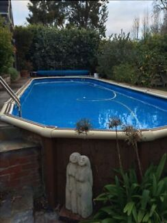 Above ground pool 11.3 x 3 x 1.4m St Peters Norwood Area Preview