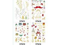 Tattoo stickers - Christmas, Peppa pig, Pikachu