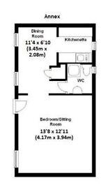 1 Bedroom Studio Cottage