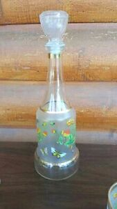 Vintage Butterfly Decanter Set Regina Regina Area image 4