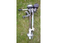 1.5hp British Seagul outboard engine