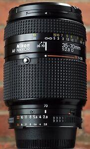 nikon AF 35 70 2.8 D zoom lens