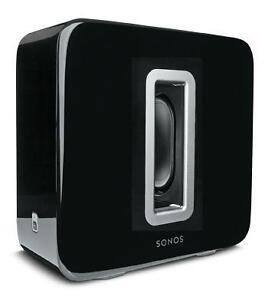 NEW Sonos Playbar & Sub Black Gloss Wireless Sound System